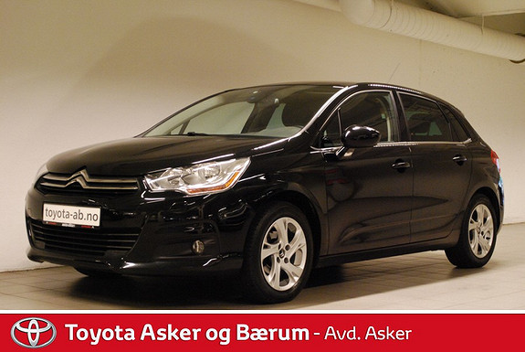 Citroën C4 1,6 90 hk HDi Attraction KAMPANJERENTE 2.95%  2012, 64000 km, kr 139000,-