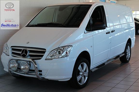 Mercedes-Benz Vito AUTOMAT 4X4 - 163HK - LANG TYPE  2012, 53000 km, kr 299000,-