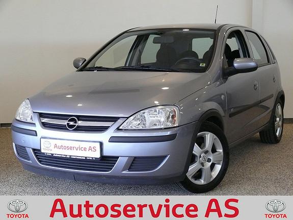 Opel Corsa 1,2 Essentia NB: LAV KM  2004, 86000 km, kr 59000,-