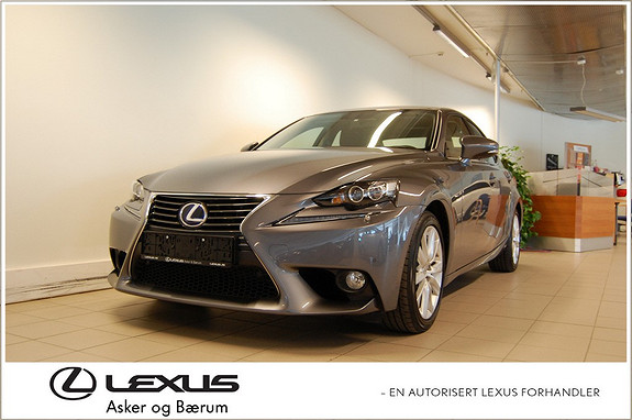 Lexus IS 300h Executive . Solgt ny hos oss!!  2014, 10700 km, kr 439000,-