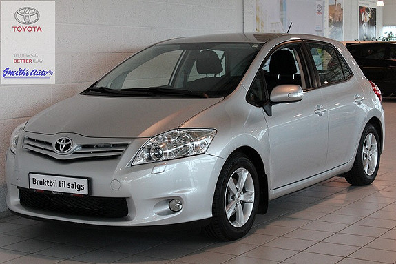 Toyota Auris 1.4 ADVANCE  2011, 26000 km, kr 165000,-