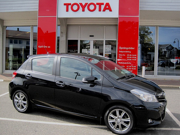 Toyota Yaris 1,33 Style m/Navigasjon  2012, 38561 km, kr 169000,-