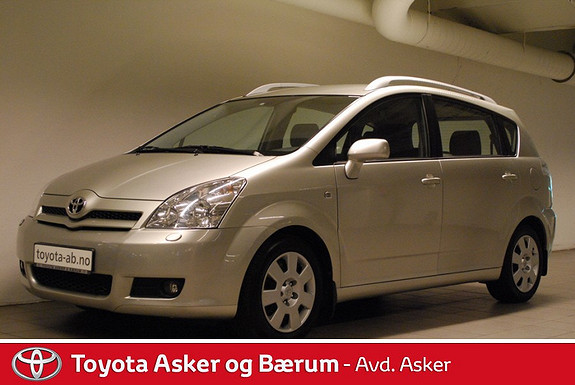 Toyota Corolla Verso 2,2 D-4D Sol KAMPANJERENTE 2,95%  2006, 106700 km, kr 109000,-