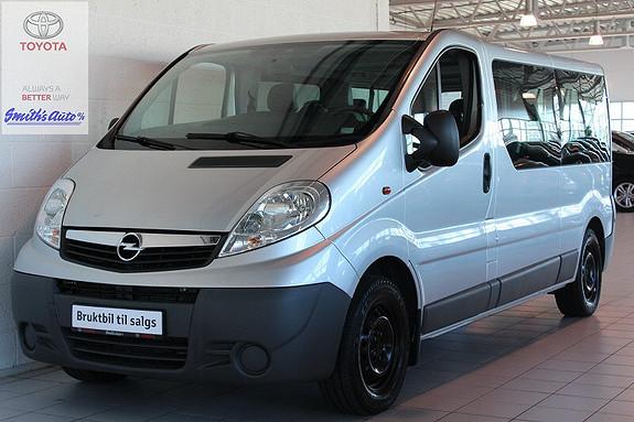 Opel Vivaro 9-Seter  2011, 82000 km, kr 299000,-