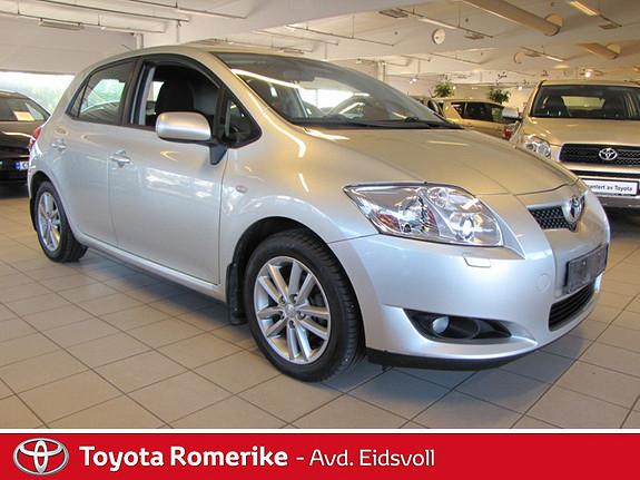 Toyota Auris 1,4 D-4D Sol Ny i Norge! En eier! Garanti! Finans!  2009, 121797 km, kr 109000,-