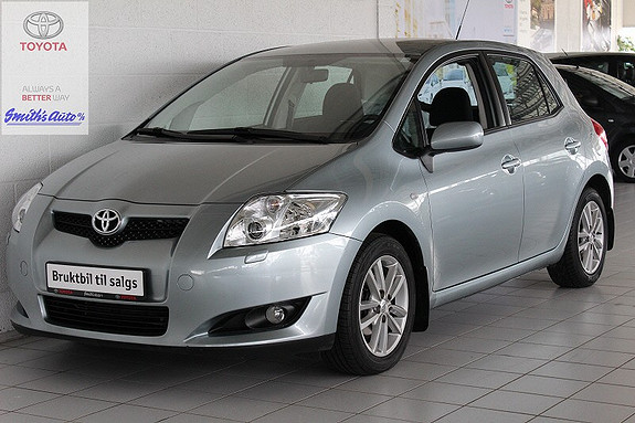 Toyota Auris 1.4 SOL  2008, 63000 km, kr 119000,-