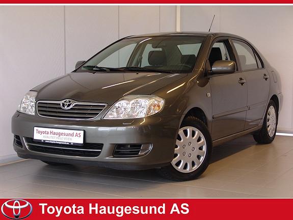 Toyota Corolla 1,4 D-4D Fin kilometer, AC, 8 nye dekk - Driftssikker - ikke partikkefilter! :)  2005, 101472 km, kr 79000,-