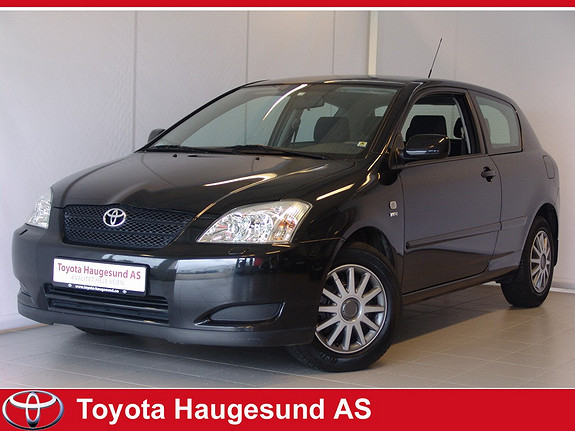 Toyota Corolla 1,4 bensin 97HK, Norsk bil, 2 eiere, MEGET pen innvendig - SE KM!!!  2002, 68488 km, kr 65000,-