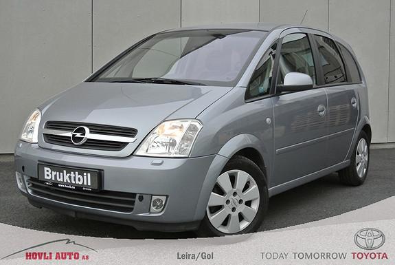 Opel Meriva 1,6 100hk Cosmo Irmscher - Komplett servichefte - Eu Ok 2017 - Ingen rust - Garanti  2003, 160115 km, kr 59900,-