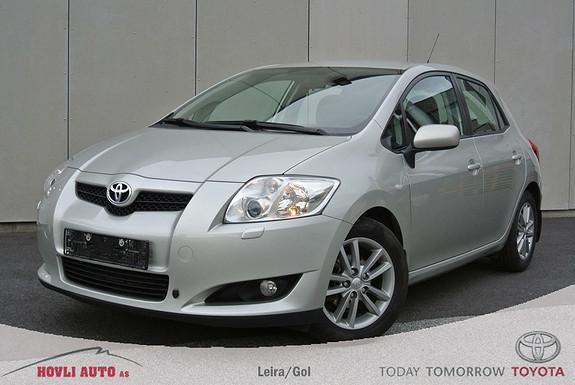 Toyota Auris 1,33 Sol Stop&Start Motorvarmer - Kampanjerente 2,95% -  Aut.Klima- 1 års Garanti  2009, 78400 km, kr 129900,-