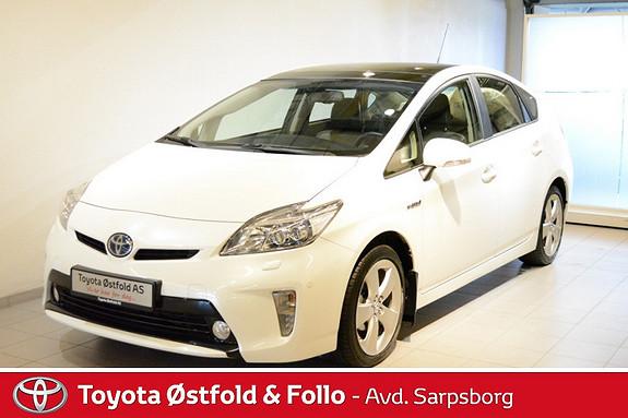 Toyota Prius 1,8 Premium pre-crash Solcelleglasstak ,Premium  2012, 34533 km, kr 219000,-
