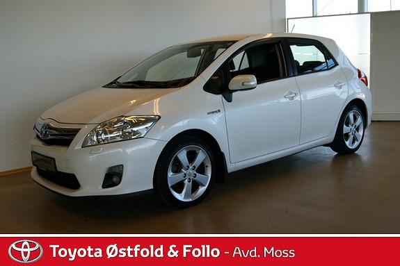 Toyota Auris 1,8 Hybrid Executive HSD , Hybridbatteri garanti inntil bilen er 10 år,  2010, 70900 km, kr 170000,-