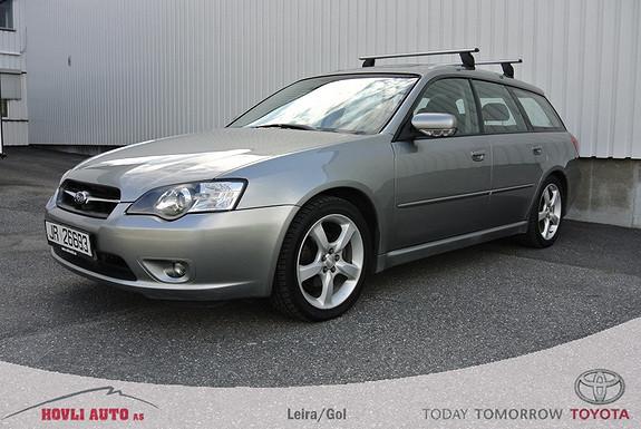 Subaru Legacy 2,0R SK Navi/skinn/soltak, 165HK ,  2006, 183000 km, kr 113500,-