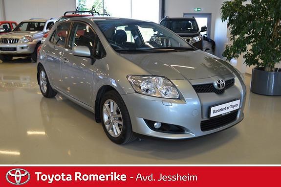 Toyota Auris 1,6 VVT-i Sol Blue  2008, 84694 km, kr 139000,-