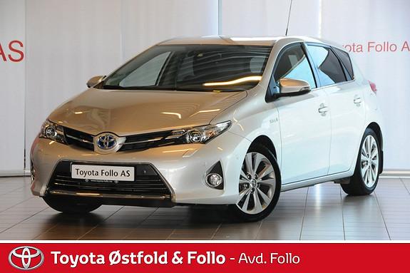 Toyota Auris 1,8 Hybrid E-CVT Executive  2013, 21500 km, kr 259000,-