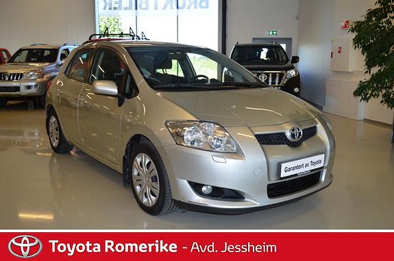 Toyota Auris 1,4 D-4D Sol  2007, 129560 km, kr 109000,-