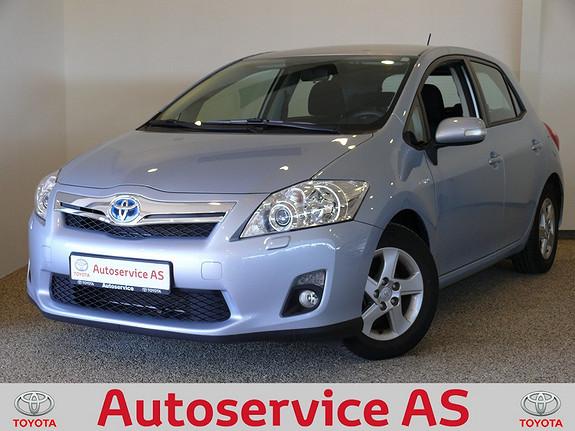 Toyota Auris 1,8 Hybrid Advance HSD NB: LAV KM  2010, 40000 km, kr 189000,-
