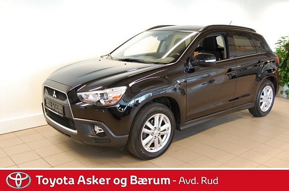 Mitsubishi ASX Intense Vision-pack 1.6-116 ClearTec  2012, 66300 km, kr 199000,-