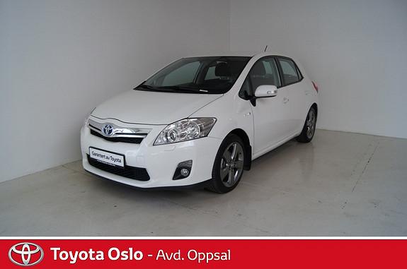Toyota Auris 1,8 Hybrid Executive HSD Ryggekamera og navigasjon  2012, 49635 km, kr 209000,-