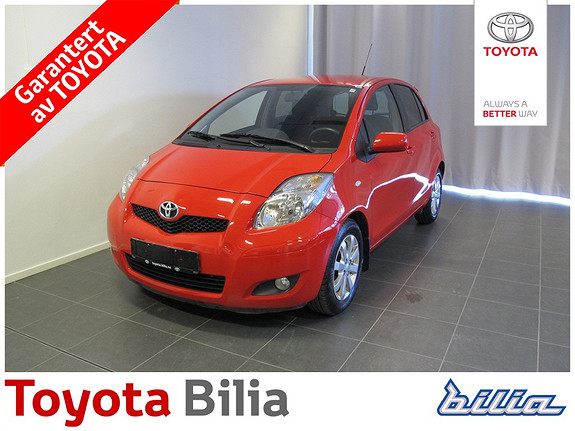 Toyota Yaris 1,4 D-4D S  2009, 70639 km, kr 109900,-