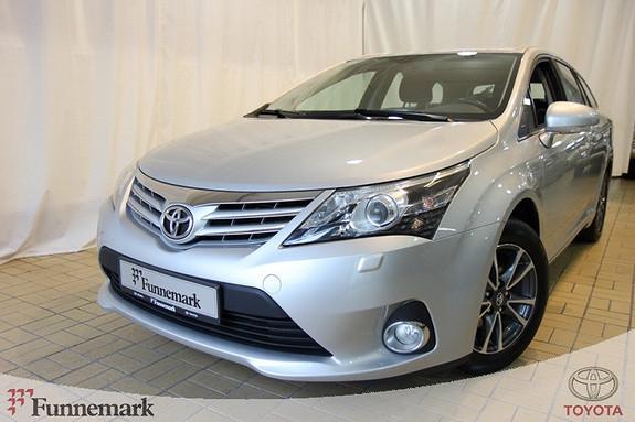 Toyota Avensis 1,6 132hk Advance  2012, 65040 km, kr 219000,-