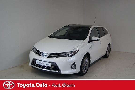 Toyota Auris Touring Sports 1,8 Hybrid Executive  2015, 13000 km, kr 309900,-