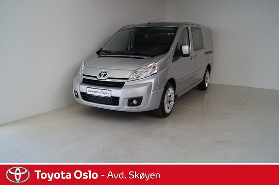 Toyota Proace 2,0 163hk L2H1 (m/bakluke) aut.  2014, 10291 km, kr 259900,-