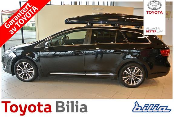 Toyota Avensis 1,8 147hk Advance Med Packline skiboks  2012, 104100 km, kr 229900,-