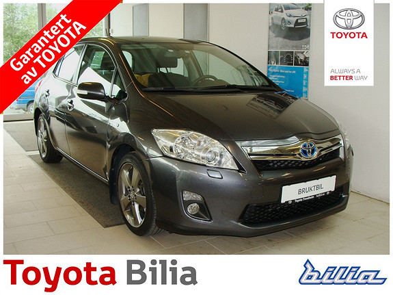 Toyota Auris 1,8 Hybrid E-CVT Executive  2012, 41000 km, kr 209000,-