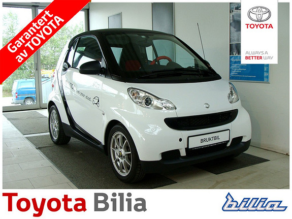 Smart Fortwo coupe Coupe MHD 1,0 61hk Pure  2011, 35570 km, kr 79000,-