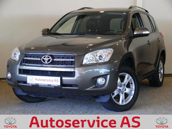 Toyota RAV4 2,0 Valvematic Executive  2009, 76000 km, kr 269000,-