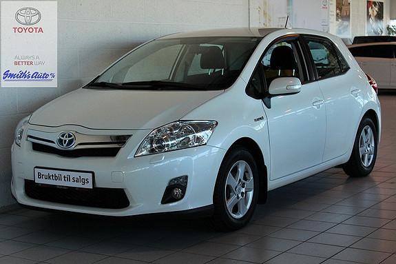 Toyota Auris 1.8 ADVANCE - HYBRID  2012, 26000 km, kr 199000,-