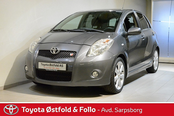 Toyota Yaris 1,8 TS , 133 HK,  2009, 98600 km, kr 125000,-