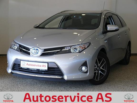 Toyota Auris 1,8 Hybrid E-CVT Active+  2014, 8000 km, kr 284000,-
