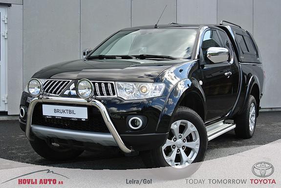 Mitsubishi L200 Club Cab Instyle+ 2.5-178 Hengerfeste - Ryggekamera - Navi - Privat bruk - Pen  2012, 46820 km, kr 259900,-