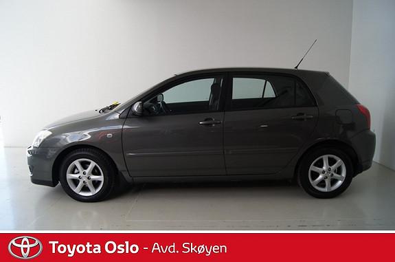 Toyota Corolla 1,6 Sol  2007, 93876 km, kr 104900,-