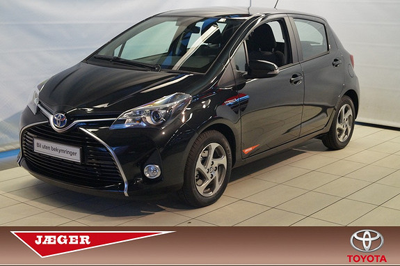 Toyota Yaris 1,5 Hybrid Active  2014, 1000 km, kr 199000,-