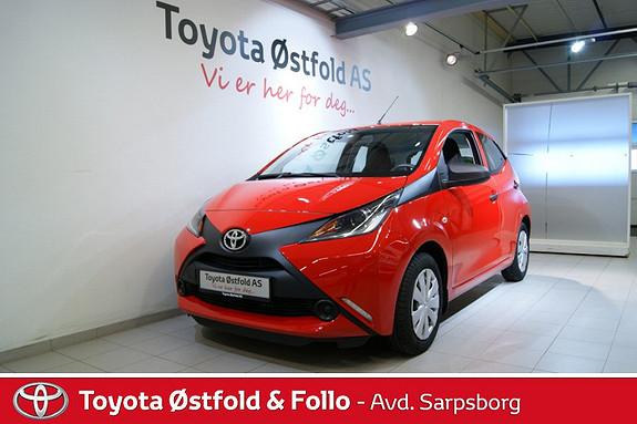 Toyota Aygo x 1,0 , DAB+ radio,  2015, 5200 km, kr 138000,-