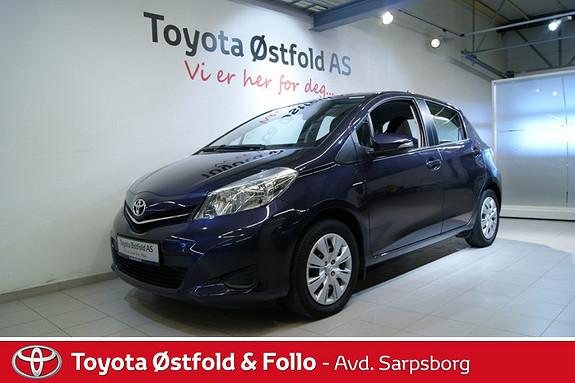 Toyota Yaris 1,0 Active , NAVIGASJON / RYGGEKAMERA,  2013, 35400 km, kr 155000,-
