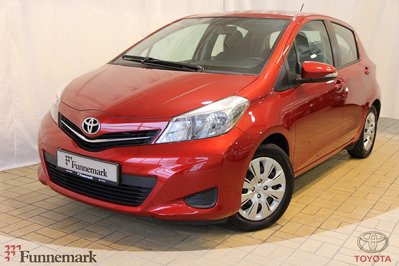Toyota Yaris 1,0 Active  2012, 50396 km, kr 139000,-