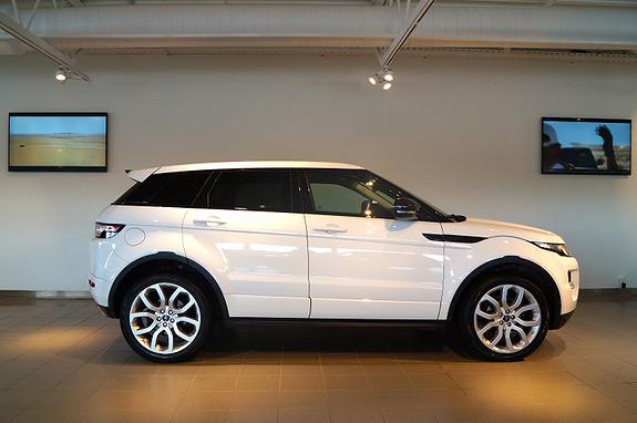 Land Rover Range Rover Evoque TD4 150hk Dynamic / Navi/ Panorama  2013, 39000 km, kr 559000,-