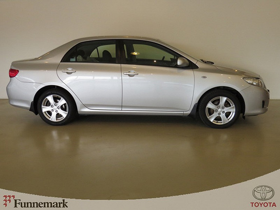 Toyota Corolla 1.4-90HK D-4D SOL 4-DØRS  2008, 137000 km, kr 119000,-