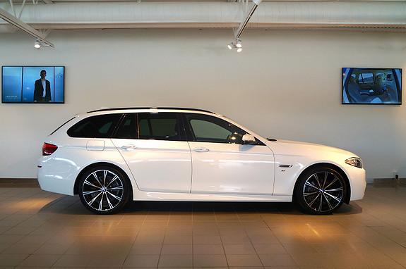 BMW 5-serie 518d 143hk Touring M-Sport/Pano/Nav  2014, 35000 km, kr 529000,-