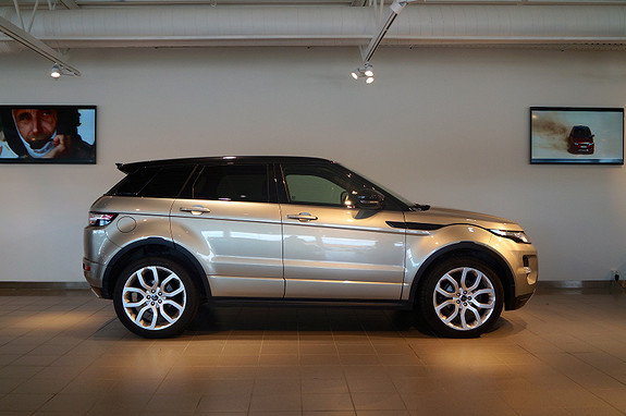 Land Rover Range Rover Evoque TD4 Dynamic 150hk /Panorama +++  2013, 31000 km, kr 559000,-