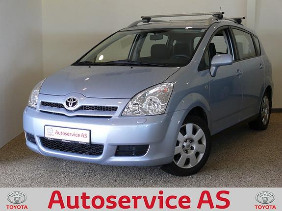 Toyota Corolla Verso 1,6 Sol NB: LAV KM OG PENT EKSEMPLAR  2005, 50000 km, kr 124000,-