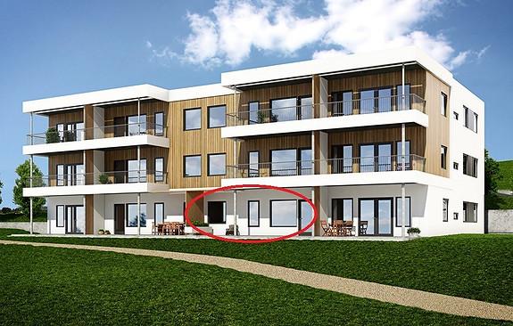 3-roms leilighet med 27 kvm terrasse i Råstølen Park. Heis og garasjeplass. Innflytting sommeren 2016