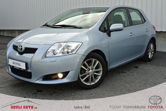 Toyota Auris 1,4 D-4D Sol Blue hengerfeste, klimaanlegg. 1 år bruktbilgaranti.  2008, 72500 km, kr 119000,-