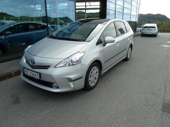 Toyota Prius+ Seven 1.8 Hybrid Executive Panoramatak 136 HK  2012, 53869 km, kr 279000,-