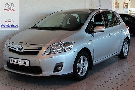 Toyota Auris 1.8 ADVANCE - HYBRID  2013, 64000 km, kr 209000,-