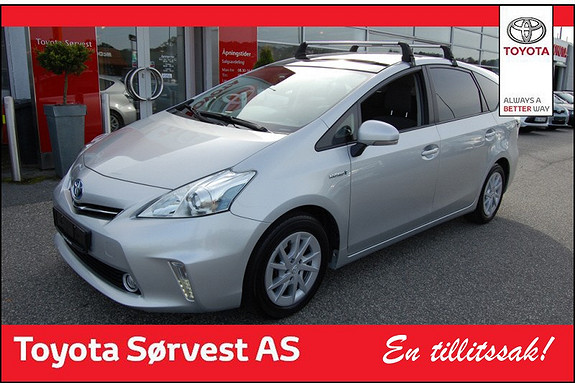 Toyota Prius+ Seven 1,8 VVT-i Hybrid Executive  2012, 49500 km, kr 289000,-